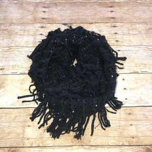 Justice Other - Justice Sequin Fringe Infinity Scarf